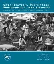 Urbanization, Population, Environment, and Security - Woodrow ...