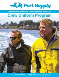 Crew Uniform Program - West Marine