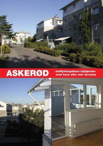 ASKERØD - indflytningsklare lejligheder med ... - Greve Kommune