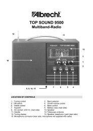 negro Midland C813 Antena de radio