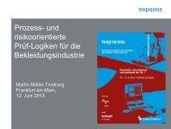 Texprocess 2013 Martin Müller-Trudrung (PDF) - Messe Frankfurt