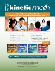 Brochure - Perfection Learning