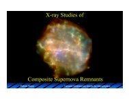 X-ray Studies of Composite Supernova Remnants - HEASARC