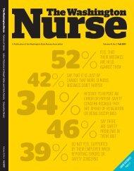 Fall 2011 - The Washington State Nurses Association