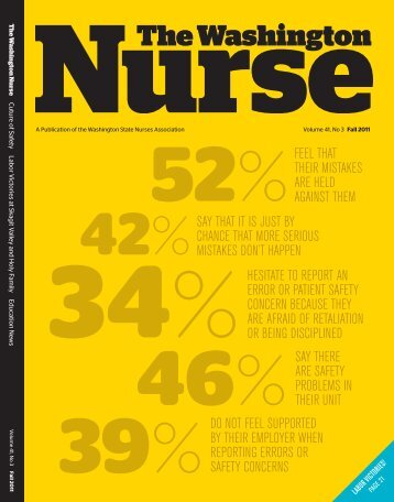 Fall 2011 - The Washington State Nurses Association