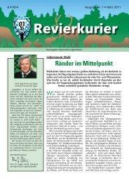 Revierkurier 1/2011