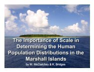 The Importance of Scale in Determining the Human ... - UNEP