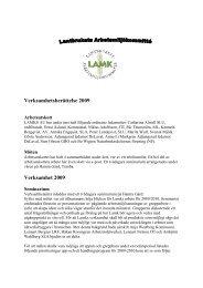 Verksamhetsberättelse 2009 Verksamhet 2009 - SLU