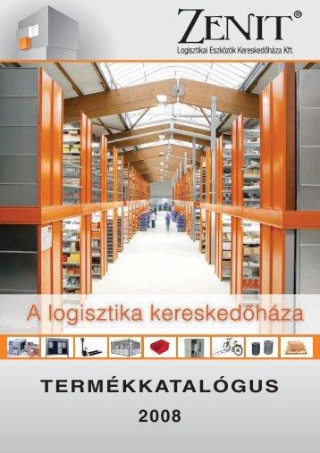 TERMÉKKATALÓGUS 2008 - Zenit Kft.