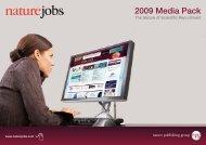 2009 Media Pack - Nature Publishing Group