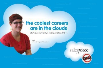 College recruiting brochure - Salesforce.com