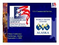 The Growing China Market - World Trade Center Alaska