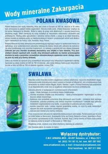 wody mineralne Zakarpacia