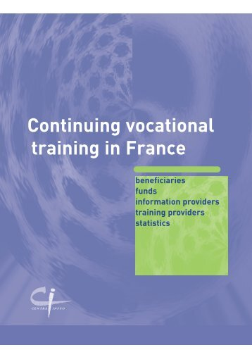 Continuing vocational training in France - Centre Inffo