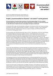 Gemeinsame Pressemitteilung vom 22.05.2012 - Gemeinde Volken