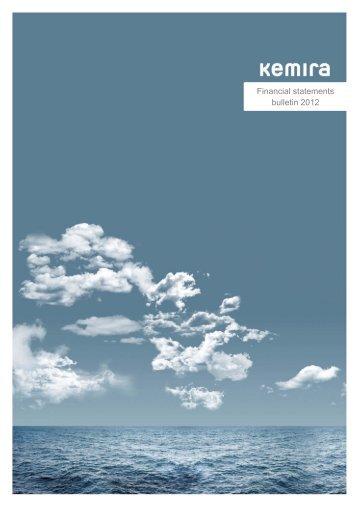 Kemira financial statements bulletin 2012