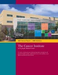 2007 Cancer Annual_prod5 - St. Joseph Medical Center
