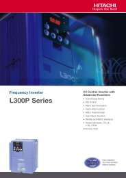 Frequency Inverter L300P Series