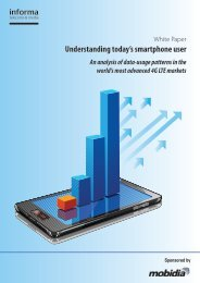 Understanding today's smartphone user - Informa Telecoms & Media