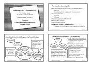 Grundlagen der Programmierung! - Technische Universität München