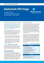 Alphamalt EFX Mega - Mühlenchemie GmbH & Co. KG