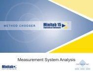 Method Chooser: Measurement Systems Analysis - ASQ-1302