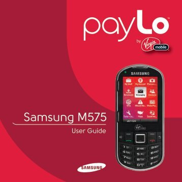 Samsung M575 - Virgin Mobile