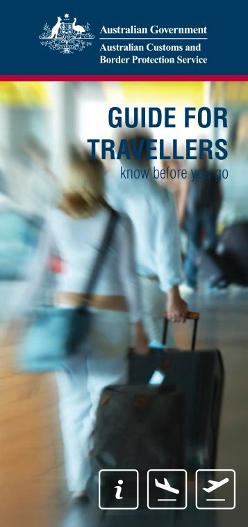 Guide for Travellers - Know before you go