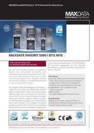 MAXDATA FAVORIT 5000 I BTX M10