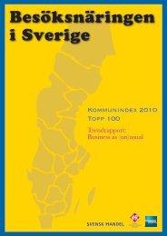 Besöksnäringen i Sverige 2010 som pdf - Visita