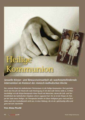 Heilige Kommunion. Sexuelle Körper- und ... - Institut ATMA