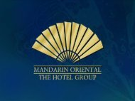 2002 ANNUAL RESULTS HIGHLIGHTS - Mandarin Oriental Hotel ...