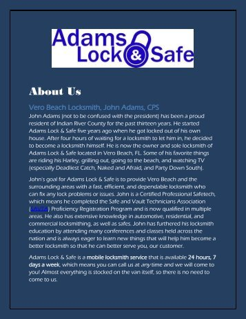 247 locksmith Vero Beach