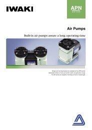 IWAKI Air pumps APN series