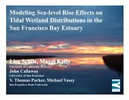 Modeling Sea-level Rise Effects on Tidal Wetland Distributions in ...