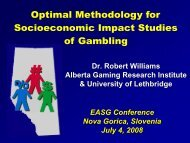 Optimal Methodology for Studying the Socioeconomic Impact or ...