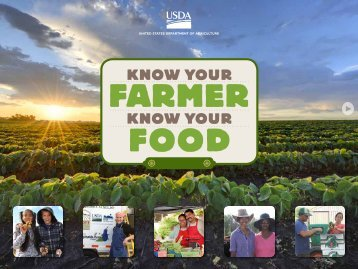 Know Your Farmer Know Your Food Compass - US Department of ...