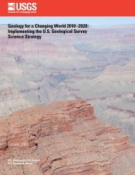 Implementing the US Geological Survey Science Strategy - Water ...