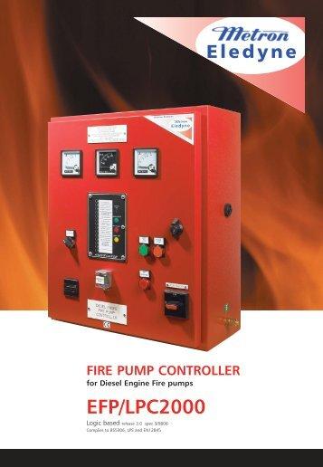 fire pump controller - Metron Eledyne