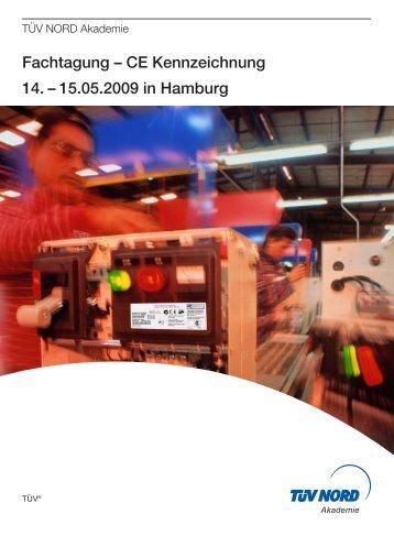 Fachtagung CE Kennzeichnung 2009 (.pdf) - INMAS
