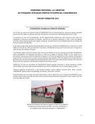 1 gobierno regional la libertad actividades oficiales proyecto ...