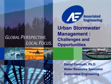 Urban Stormwater Management: Cahllenges and ... - City of Yorkton