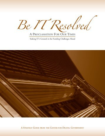 Be IT Resolved - CGI