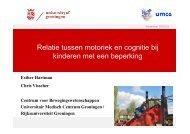 Ester Hartman - Relatie tussen motoriek en cognitie bij kinderen met ...