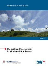 Die größten Unternehmen in Mittel- und ... - HA Hessen Agentur GmbH