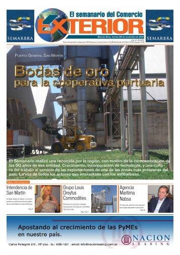 Edición N° 625 - El semanario del Comercio Exterior
