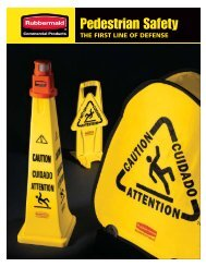 Pedestrian Safety - Rubbermaid Commercial Products