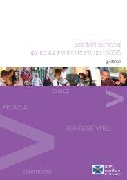 parental involvement - Education Scotland