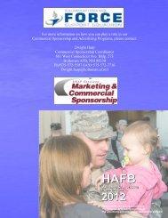 Sponsorship Booklet - Holloman Force Support Squadron