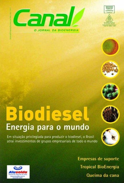 As empresas - Canal : O jornal da bioenergia